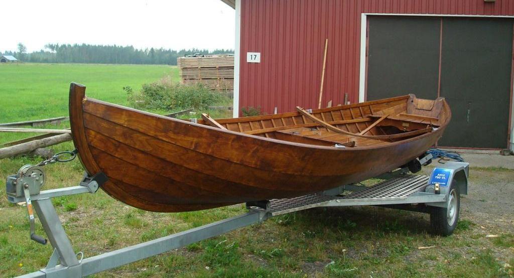Шпоновые лодки