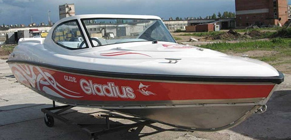 "Мотолодка ""Gladius Glide 460"""