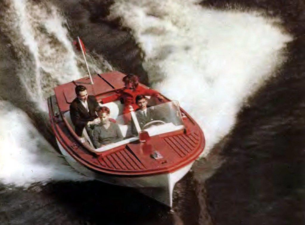 Моторная лодка «Чирок»