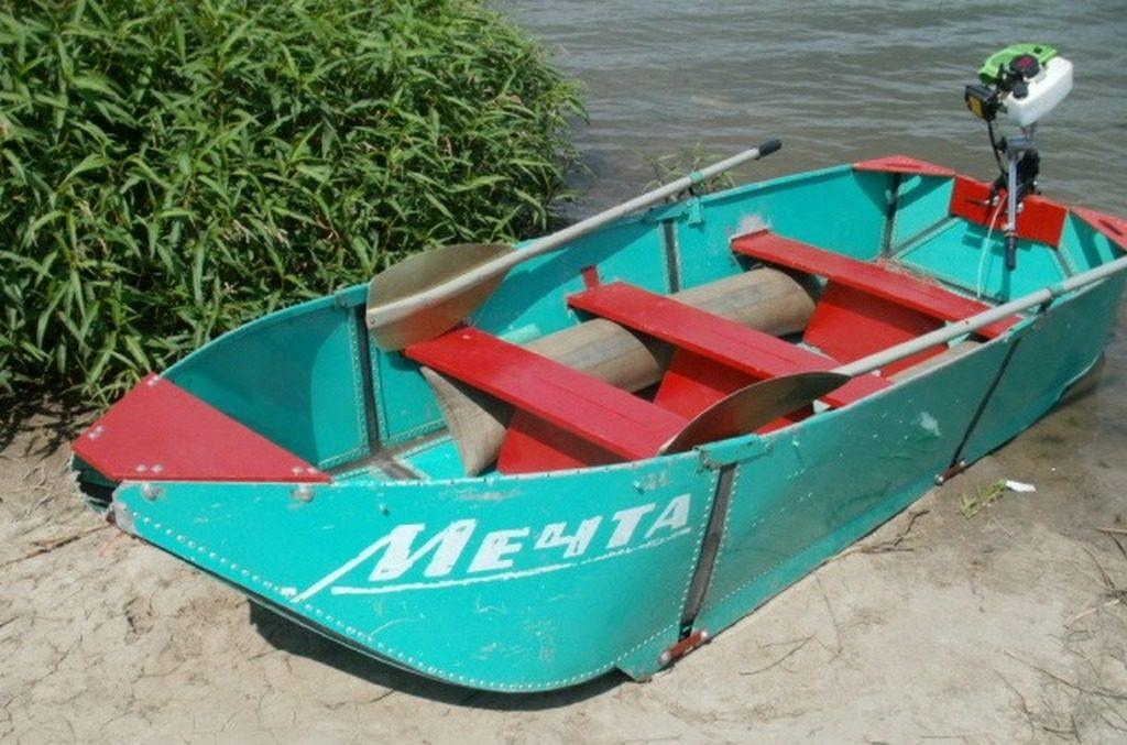 """Алюминиевая лодка """"Мечта"""""""