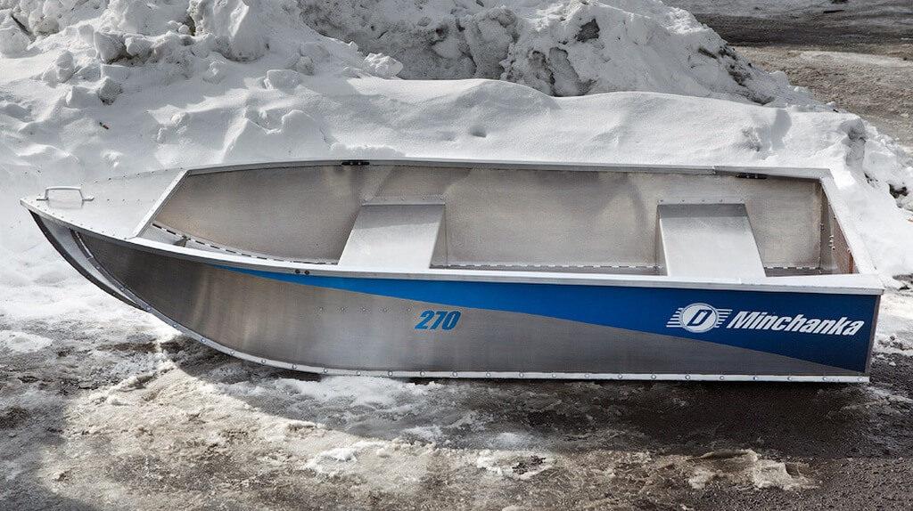 """Алюминиевая лодка """"Нева"""""""