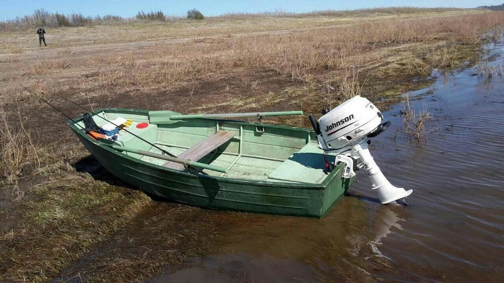 """Дюралевая лодка """"Нева"""""""