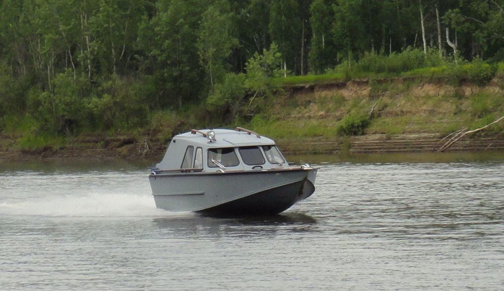 "Моторная лодка ""Обь-4"""
