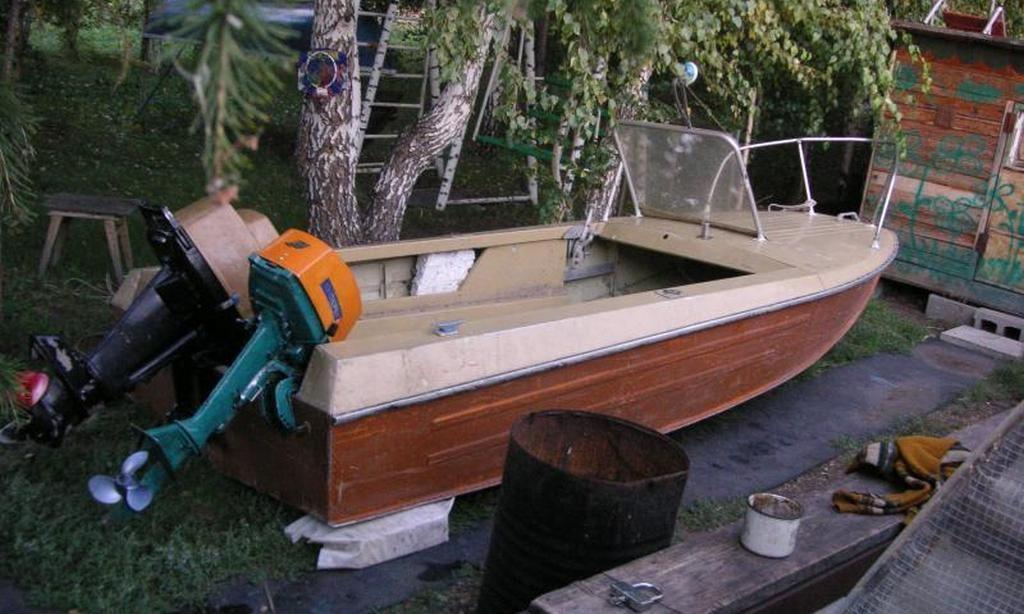 """Моторная лодка """"Ока-1"""""""