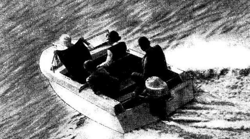 """Фото лодки """"Ока-1"""""""