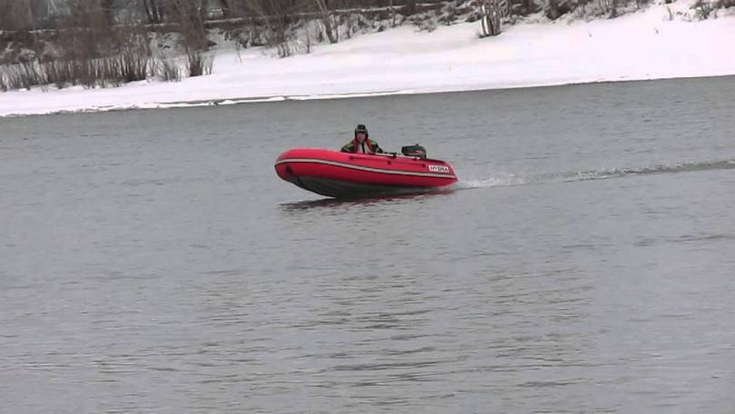 Лодка пвх афалина