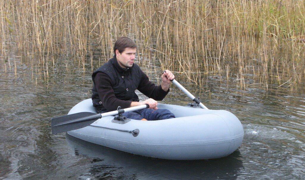 """Резиновая лодка """"Ёрш"""""""