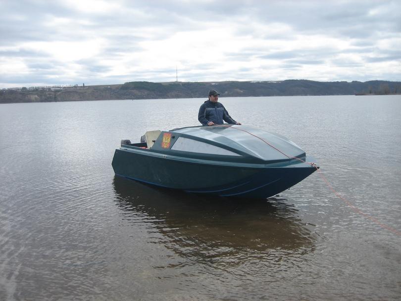 Лодка радуга