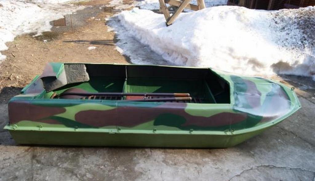 Алюминиевая лодка «Романтика»