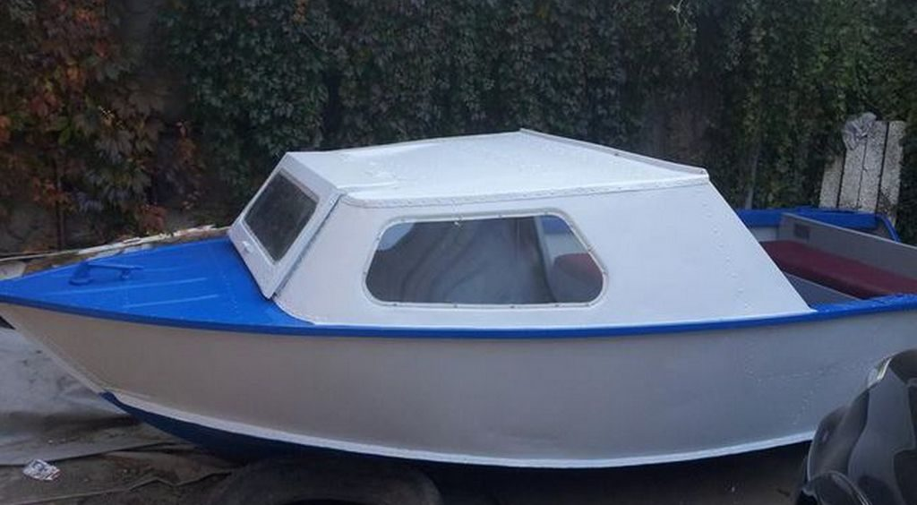 Лодка «Серебрянка 3» в модифицированном варианте