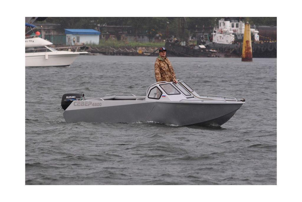 Лодка Север 4800