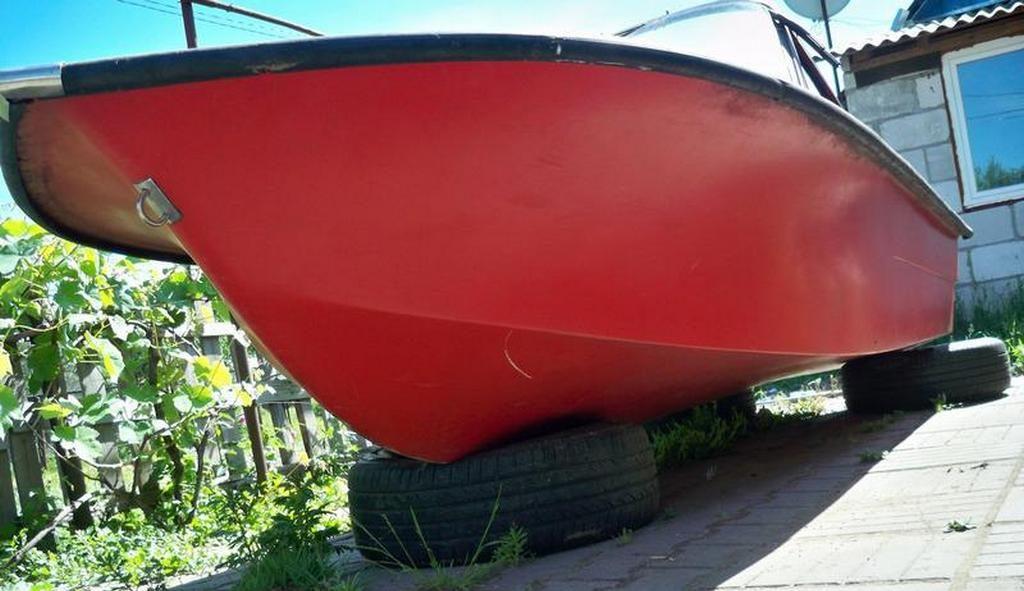 Моторная лодка «Тренер»