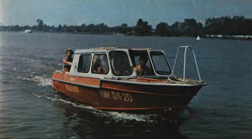 Лодка Вишера