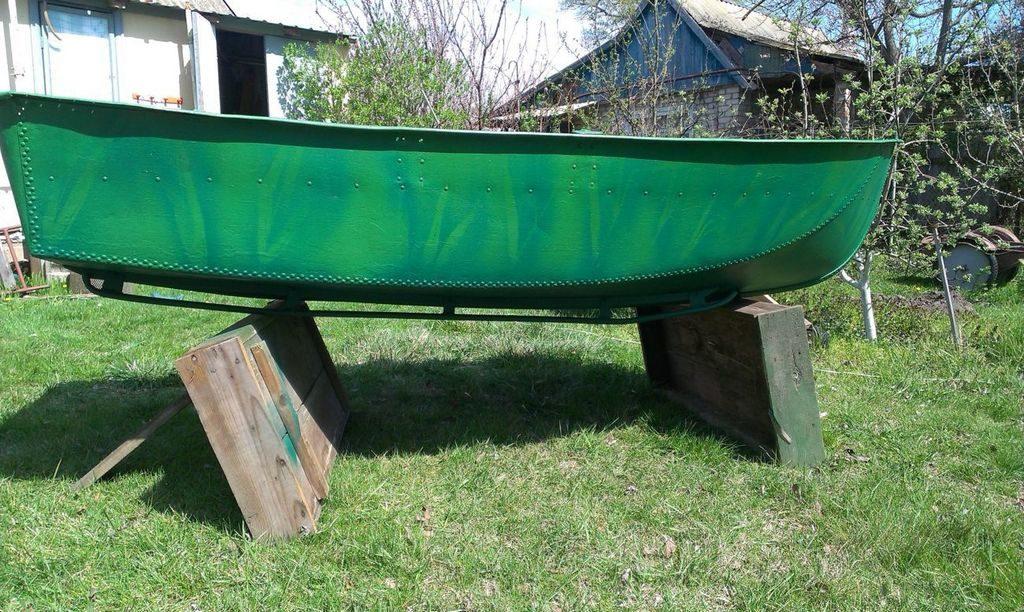 Алюминиевая лодка «Ерш»