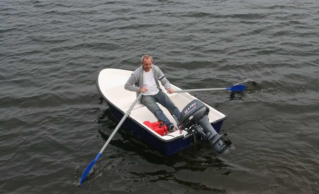 """Моторная лодка """"Ерш"""""""