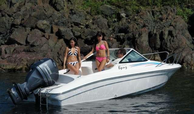 Моторная лодка Бриз