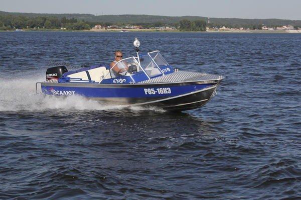 моторная лодка Салют