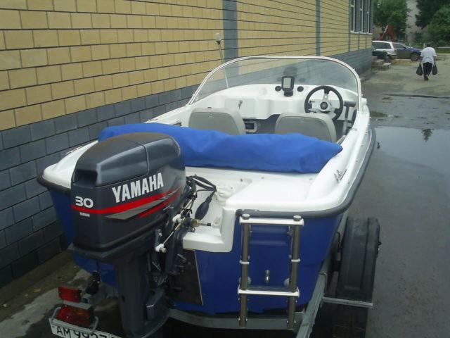 Моторная лодка Каскад 350