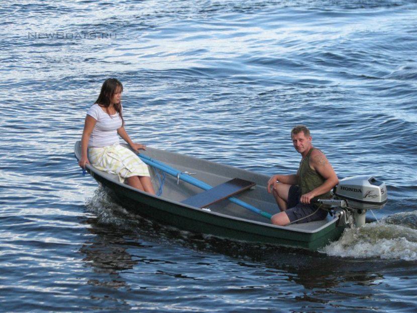 Моторно-гребная лодка «Диана 1-01»