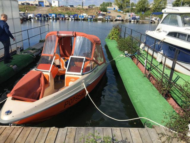 Моторная лодка Enigma