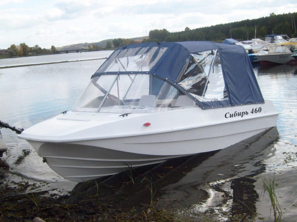 Лодка Сибирь 460 и 460-м: технические характеристики и отзывы
