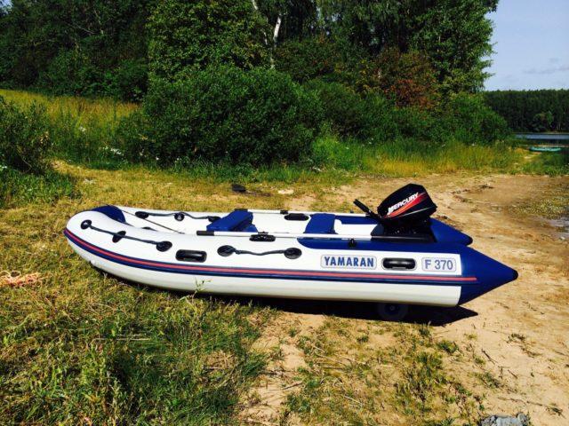 Лодка Yamaran
