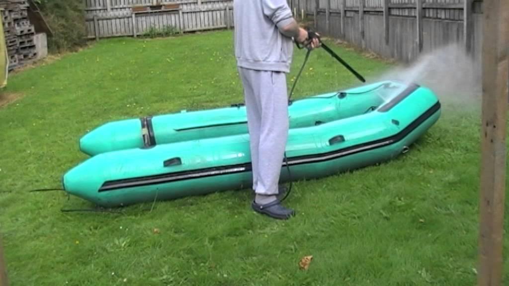 Как почистить и отремонтировать надувную лодку