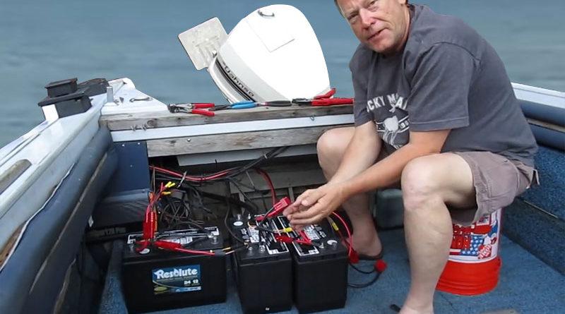 Аккумуляторы для лодок. Особенности эксплуатации.